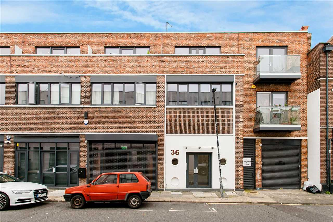 Finn Apartments, Vyner Street, London, E2